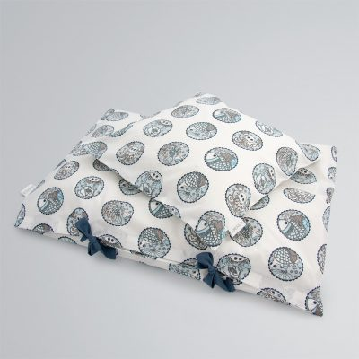 AMALA Madhubani Blue Bedding